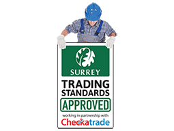 Approved by Surrey trading standards